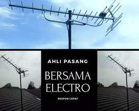 Specialist ahli pasang signal antena tv outdoor