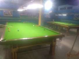 Snooker setup