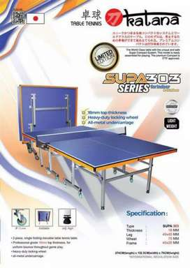 Tenis meja Katana 303 / meja pingpong / table tenis Origin Impor japan