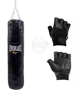 Professional Boxing Equipment | Try Boxing at Home Bag with Gloves
