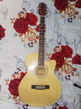 I want to sell my acoustic guitar.