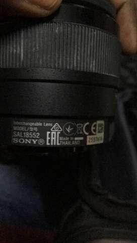 Sony single lens camera A68