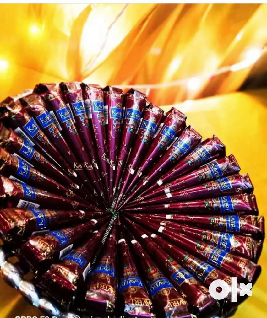 Kaveri mehindi cones