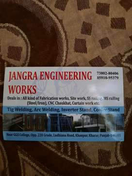 Need welder for choukhat work urgently  room and food free