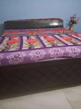 Only two month old Double bed with mattress