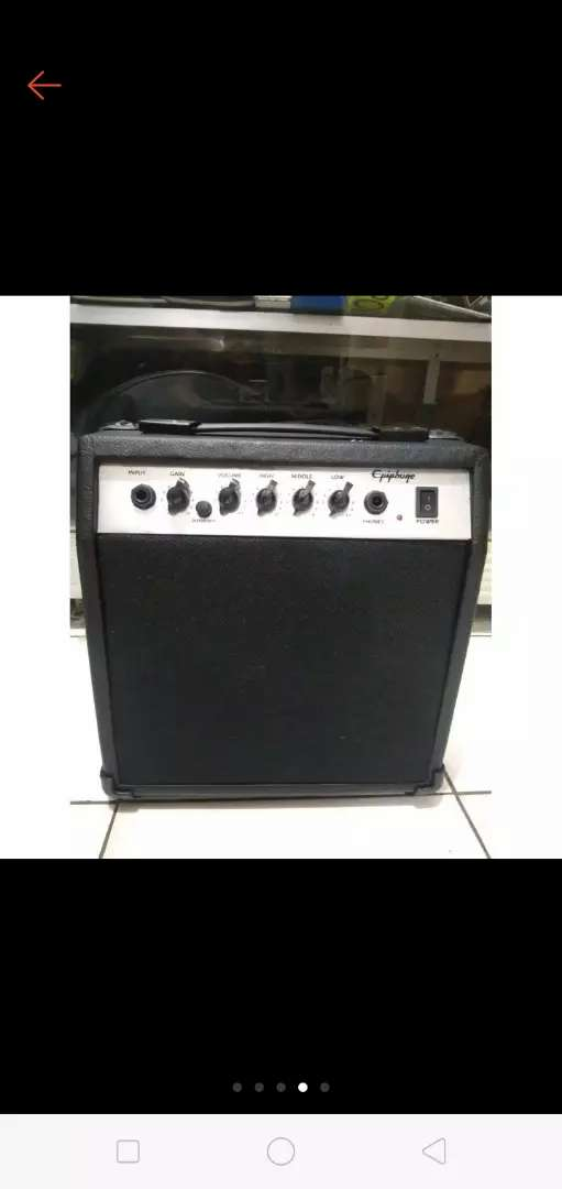 Ampli/amplifier gitar/bass 0