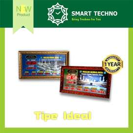 New Product Jam Digital Masjid Tipe Ideal Elegan abs+