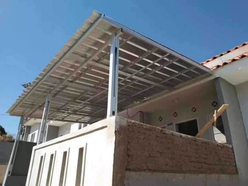 Kontruksi Rangka Baja Ringan Kanopi&Atap Rumah Bergaransi 0