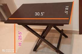 High folding tables
