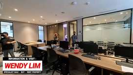 Disewakan Brand New Office Space At Sudirman 7.8 (Full Furnished)