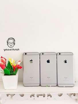 Iphone 6Splus 64Gb grey fullset no rekondisi original apple