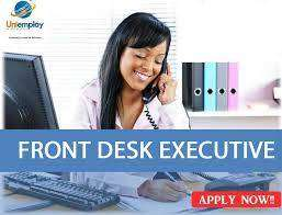 Hiring Freshers for Front Office Executive