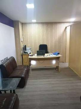 Fully Renovated office along with  Furniture available for rent