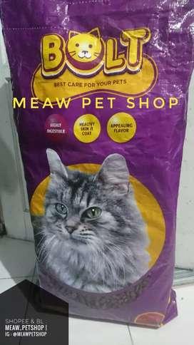 Makanan Kucing BOLT 20kg Rasa Tuna Murah