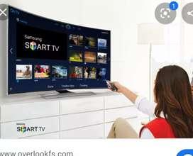 "Installation with 50"" 4k smart model sony tv"
