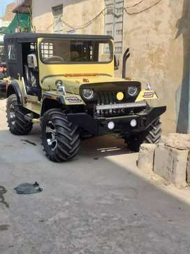 Jeep modified in my shop