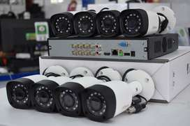 4 Cameras CCTV Package | with Installation Services throughout Karachi