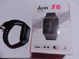 Ikon Smart Watch with Box, Battery and Charger Cable