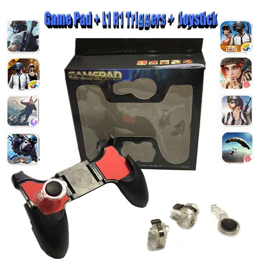 5 In 1 Mobile Phone Joystick For PUBG Free Fire Gamepad Controller 0