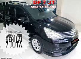 Nissan Grand Livina DP 7jt AJA Hws Matic 2014 Bukan 2013 Siap Pakai