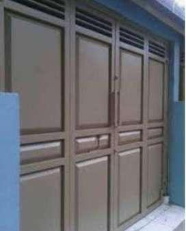 Pintu Lipat Full Galvanis Kualitas Terjamin dan BERGARANSI