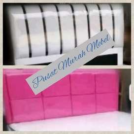 Pusat murah mebel divan pink,  putih,  hitam, merah,  maron,  ungu dll