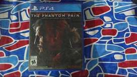 Metal Gear Solid 5 Phantom Pain ( Only Case, disk not working )