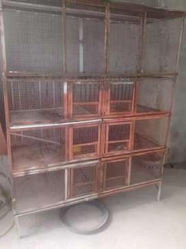 Strong iron cage