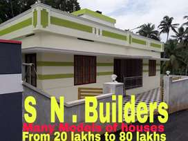 Thachottukavu;950sqf;2 Bhk with Tower
