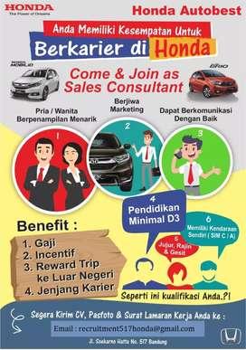 Lowongan Kerja Marketing Honda Autobest