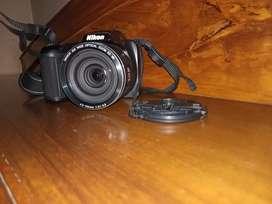 Nikon l330 point and shoot camera fix lens