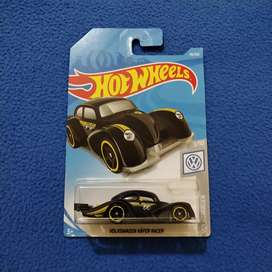 Hot Wheels VW Volkswagen Kafer Racer Black Doff Hotwheels