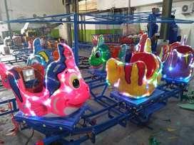 RST Mainan anak odong odong hand boat perahu pancingan kereta mobil