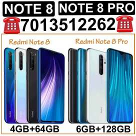 SEALED》NOTE (8)=(4GB/6GB)》NOTE (8 PRO)=(6GB) EXTRA COST ANY MODEL