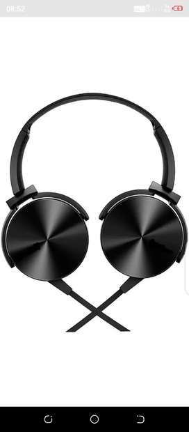 Headphone over head