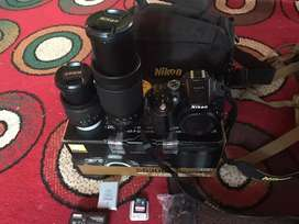 Nikon D5300 camera All Accessories complete