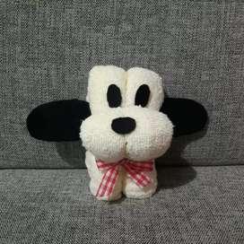 Souvenir handuk anjing imut new