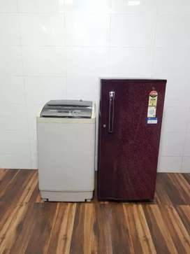 4 Star rating LG refrigerator with fully automatic washing machine