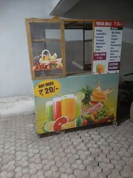 A juice shop in good condition