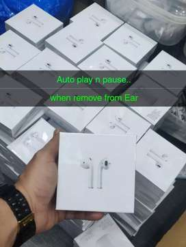Apple airpods2 Name change+Gps+Body  sensor+Auto play