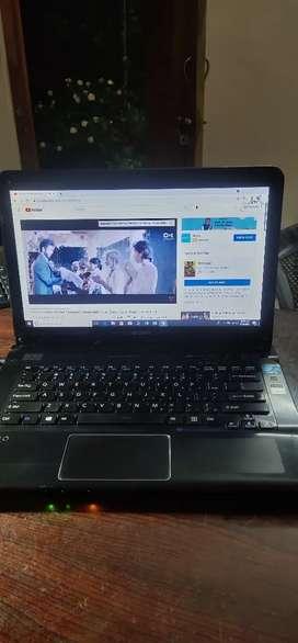 Sony Vaio i3 3rd gen 4gb 500gb 14inch wifi cam spk bt