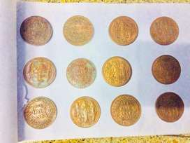 Anna half coins for sale twelve coins