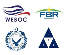 NTN, Filer, Company Registration, FBR, Income Tax, Sales Tax, Weboc,