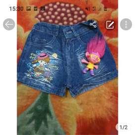 Jeans pendek lucu