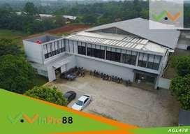 Pabrik Kondisi Prima Lokasi di Bogor Cocok Untuk Pabrik Furniture