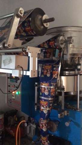 Fry dry and packing machine For snacks