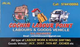 House Shifting & Cleaning Work At Cochin