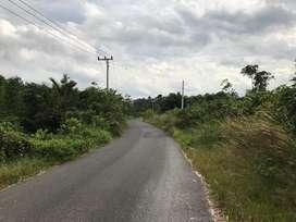 Di Jual 2 Bidang Tanah SHM berhadapan berseberangan jalan Kiri kanan