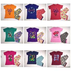 Girl Babies Export T-shirt Export summer stocklot wholesale garments t