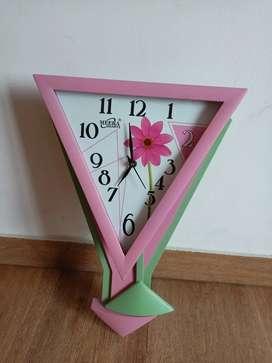 Unused Kids Wall Clock By Quartz